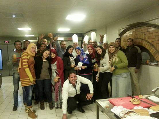 开罗总部举办首期专业烘焙培训班