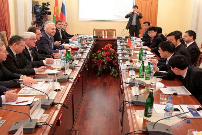 湖北省政府经贸代表团赴俄访问指导安琪俄罗斯项目