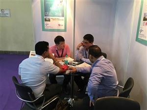 安琪参加2015世界制药原料印度展