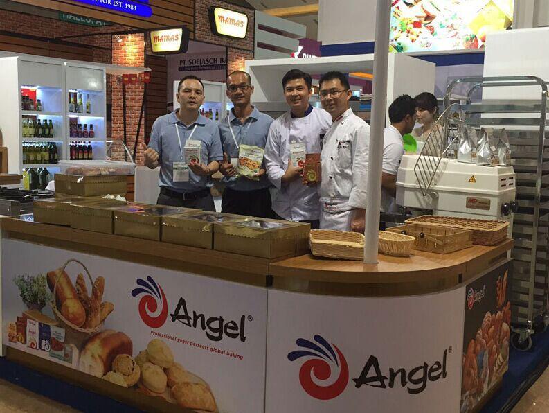 安琪参加印尼食品与酒店用品展