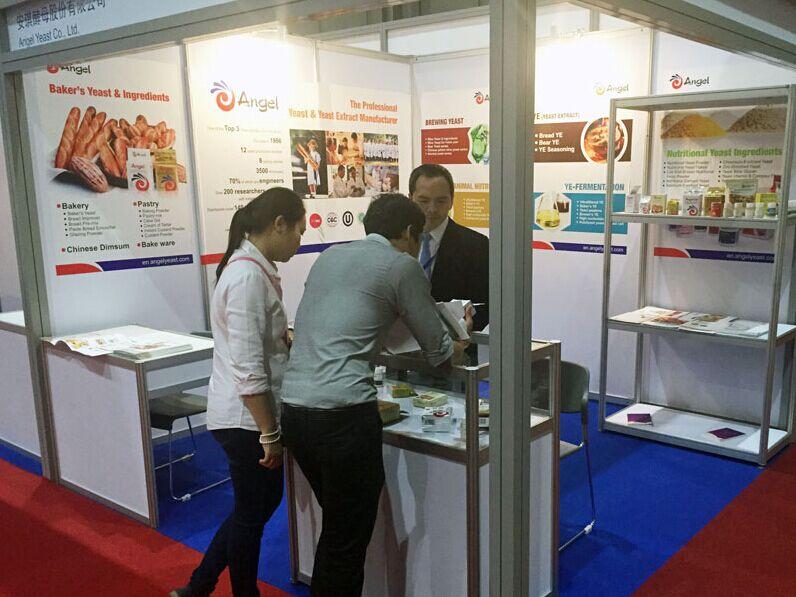 安琪参加中国-东盟博览会泰国展