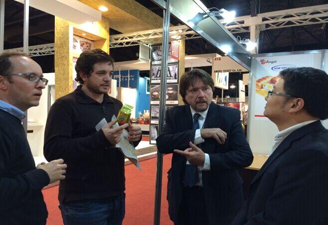 安琪首次参加阿根廷食品技术配料展