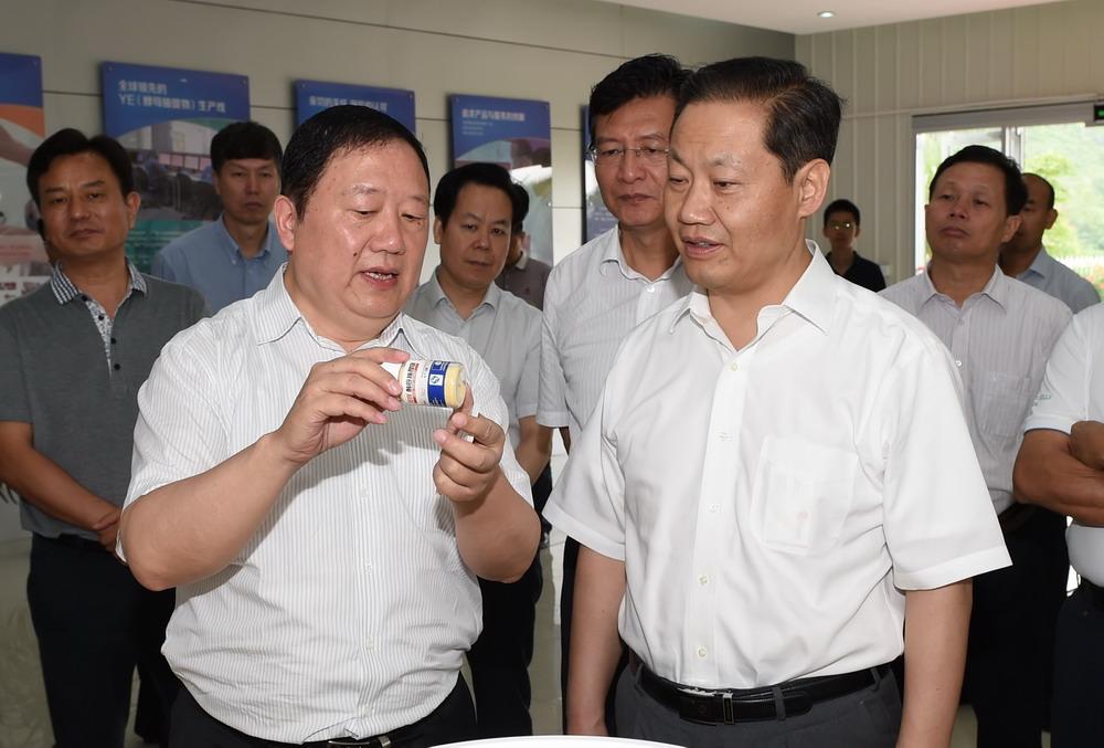 广西自治区党委书记彭清华到柳州公司调研