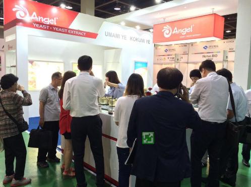 安琪酵母参加Fi-韩国食品配料展