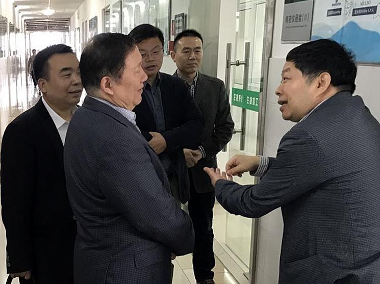 俞学锋董事长应邀访问江南大学