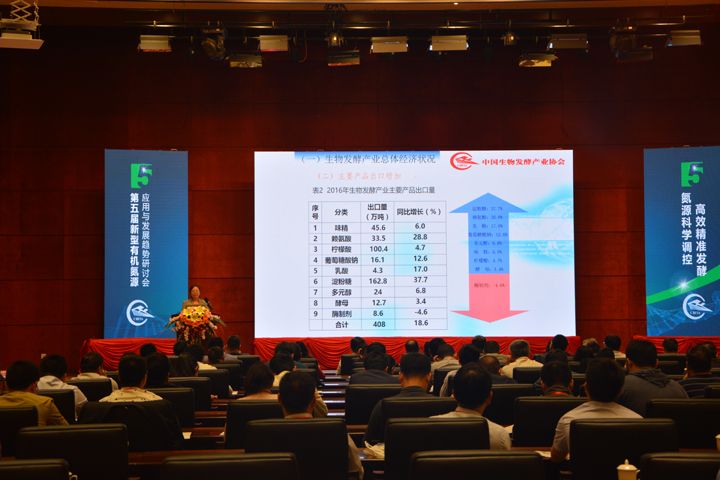 第五届新型有机氮源应用与发展研讨会圆满召开
