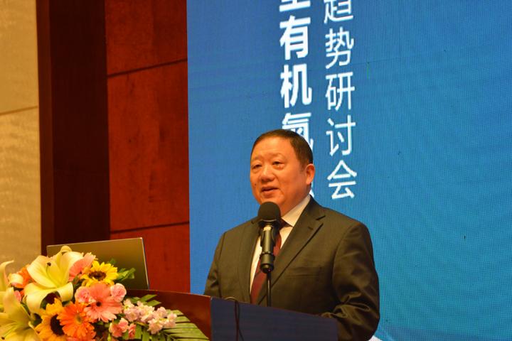 俞学锋董事长在第五届新型有机氮源研讨会开幕式上的致辞(节选)