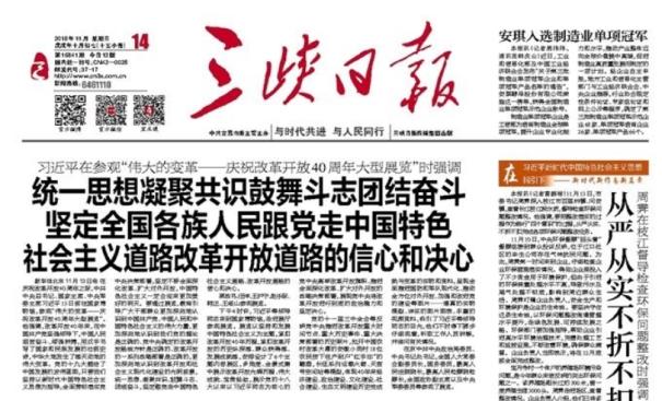 三峡日报:安琪入选制造业单项冠军