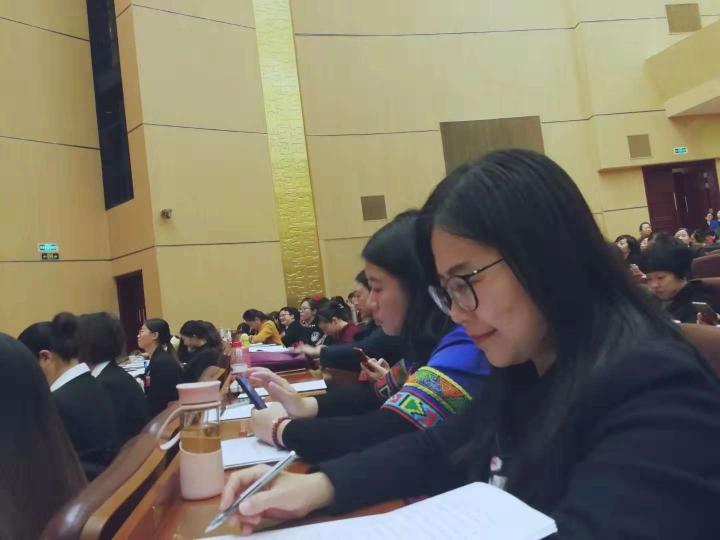 陈蓉出席湖北省第十二次妇女代表大会