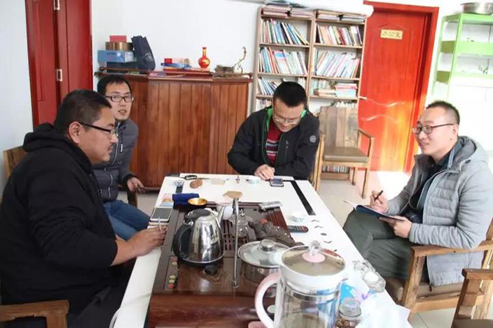 福邦与农资导报记者采访