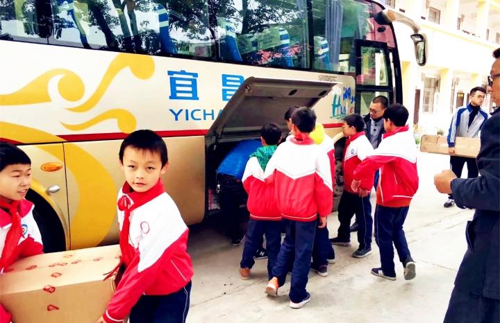 喜旺公司开展爱心帮扶教育公益活动