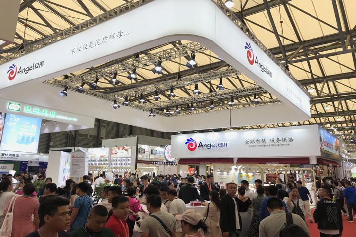 全球智慧 服务烘焙 | 安琪再次引爆上海国际焙烤展