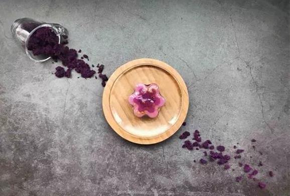 下午茶系列 紫薯牛奶冻