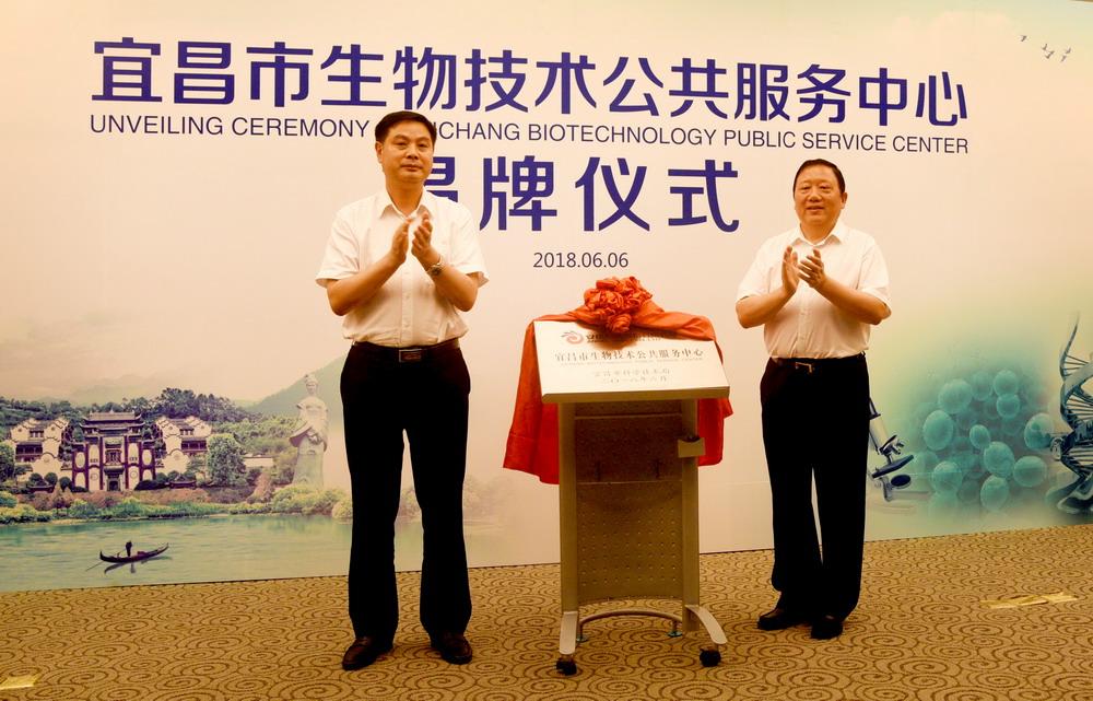 宜昌市生物技术公共服务中心在安琪成立