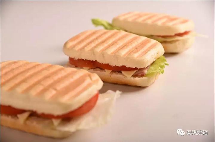 预成熟冷冻面团,三明治