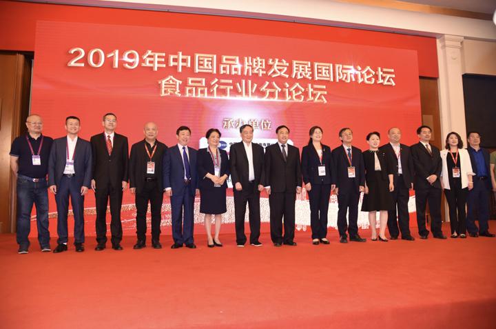 李知洪在中国品牌发展国际论坛分享安琪经验