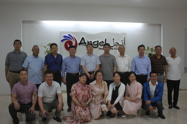 中国生物发酵产业协会代表团参观埃及安琪