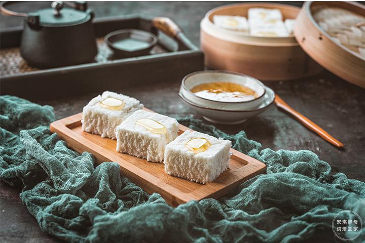 传统小吃桂花糕,一口让你回到小时候!