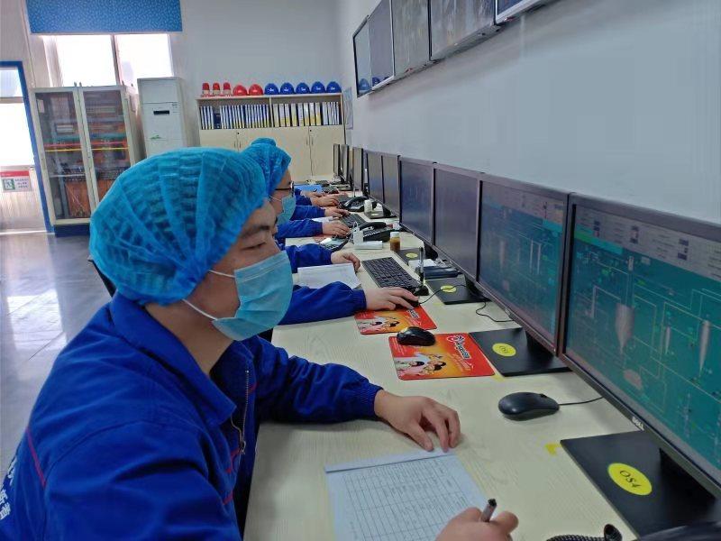 宜昌工厂员工热情饱满战斗在生产一线