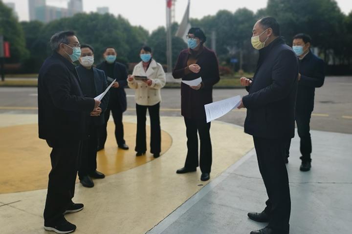 宜昌市委常委、宣传部长王国斌到安琪指导工作