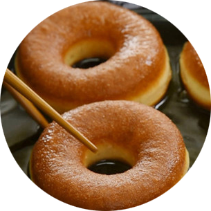 教你在家制作甜甜圈